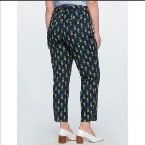 Eloquii Kady Fit Pineapple Pants